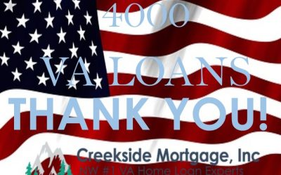 4000th VA home Loan