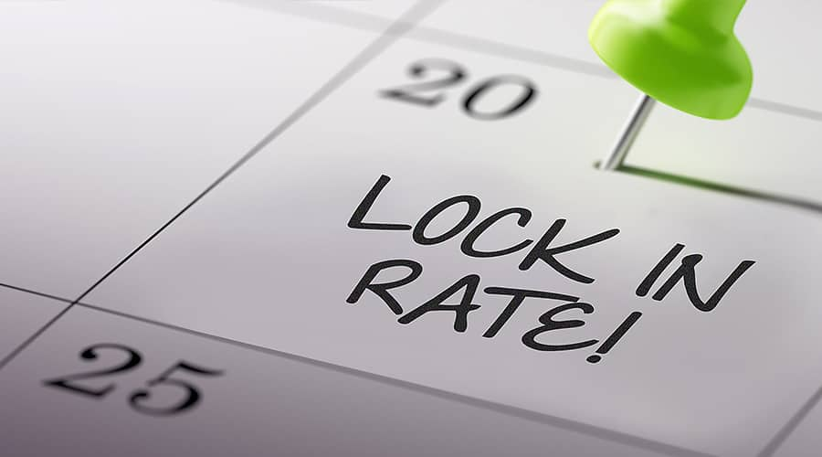 Rate Locking – What Does This Mean?